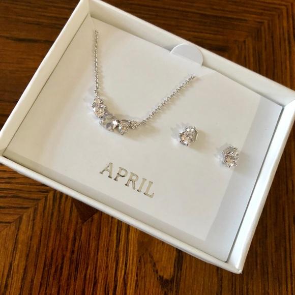 Chloe + Isabel Jewelry - April Birthstone Set-Chloe & Isabel Petite Bijoux